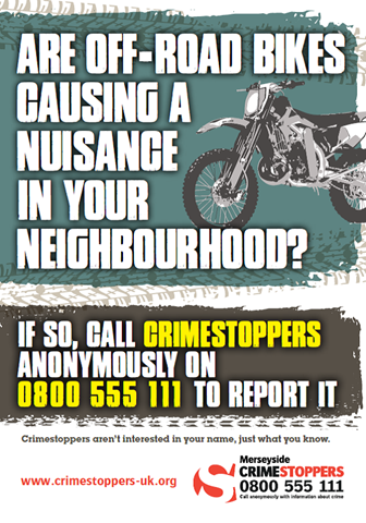 Nuisance bikes poster
