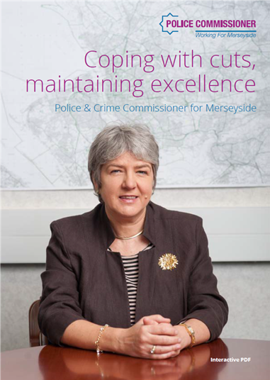Front cover of PCC's Annual Report 2019/20