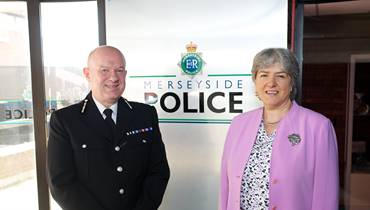 PCC Jane Kennedy with Chief Constable Andy Cooke