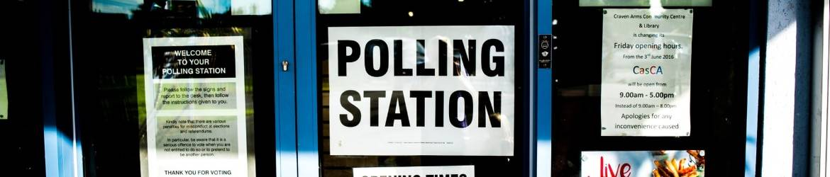 Image of polling station