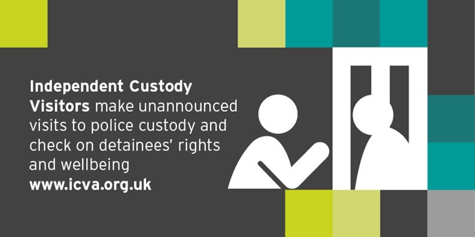 Independent Custody Visitors graphic