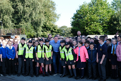 Sefton pupils anti-scrambler bike project